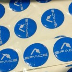 Space Dome Stickers