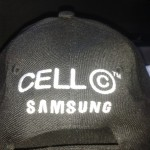 Samsung and Cell C Back of Cap